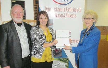 G&C Foods donates $10K to food pantry