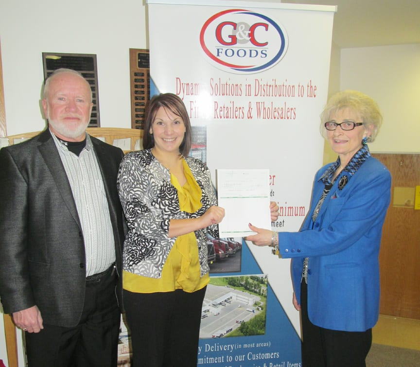 G&C Foods donates $10K to food pantry