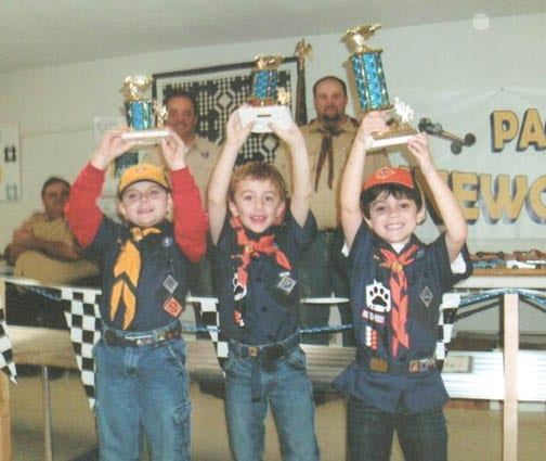 B'ville cub scouts learn sportsmanship, competition in Pinewood Derby