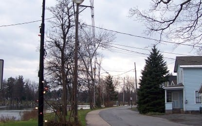 'Green' lights donated to village of B'ville