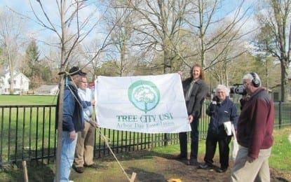 Village celebrates Arbor Day