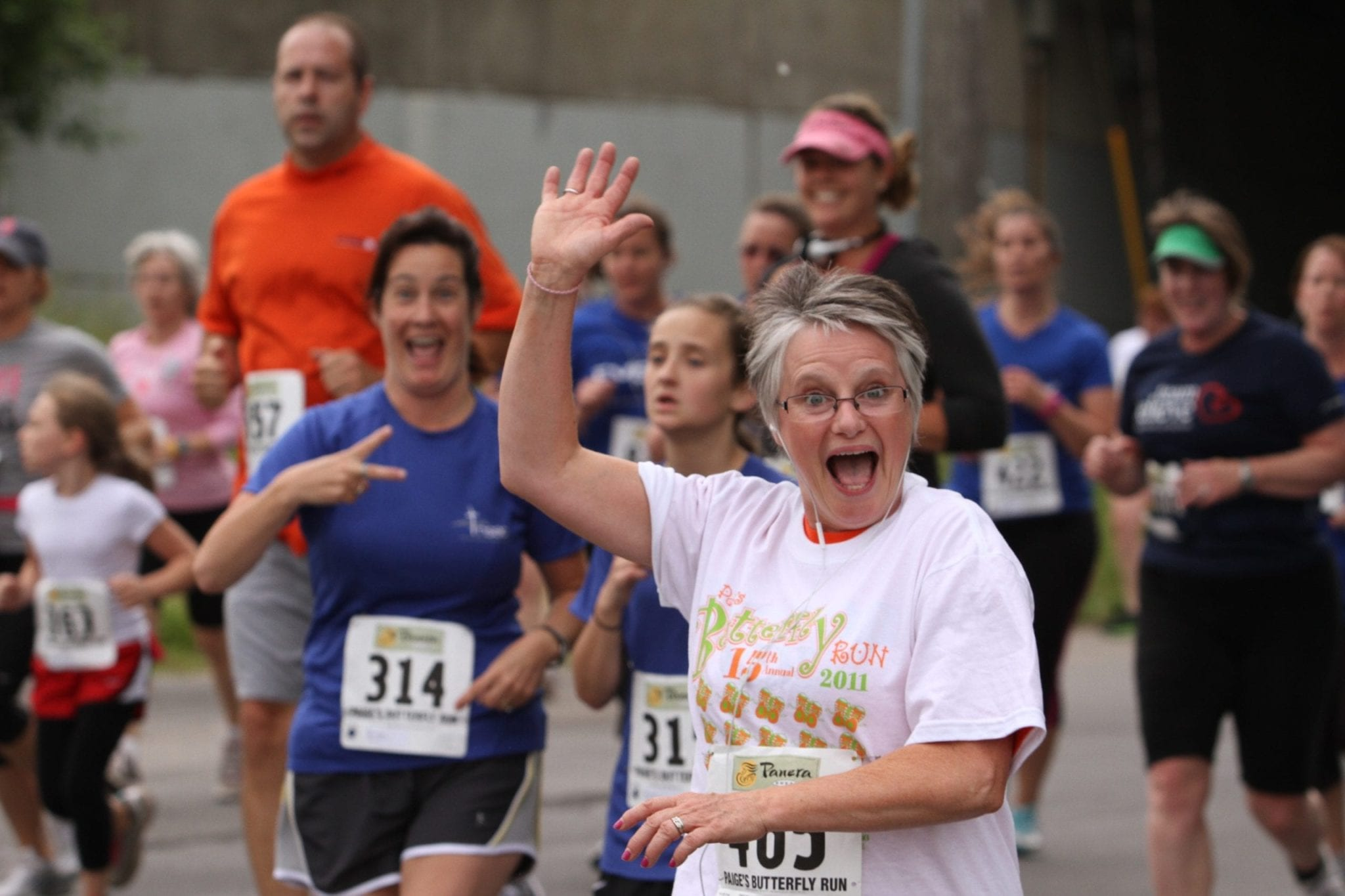 Paige's Butterfly Run and Upstate streamline registration process