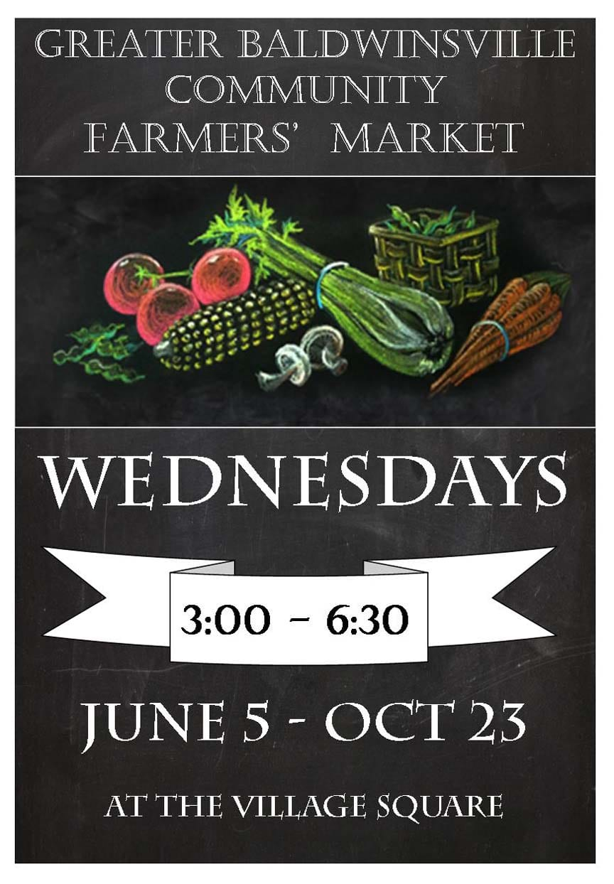 Farmers market returns to village