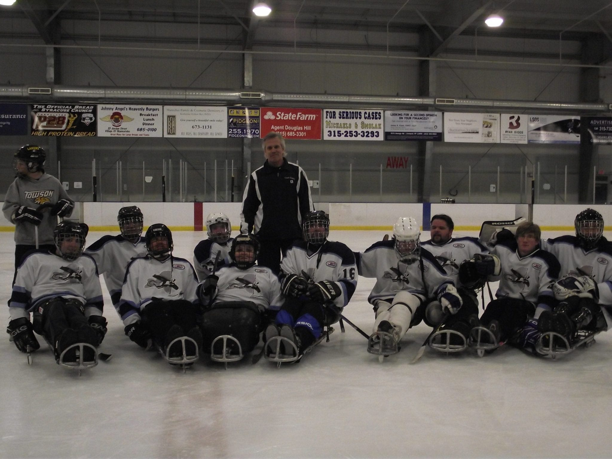 CNY Flyers to host first sled hockey tournament at Skaneateles YMCA