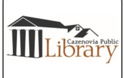 Cazenovia Public Library announces upcoming events