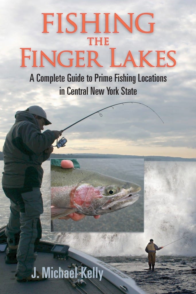 Outdoors writer Kelly pens Finger Lakes fishing guide