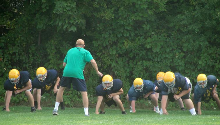 New faces all over field for Caz football