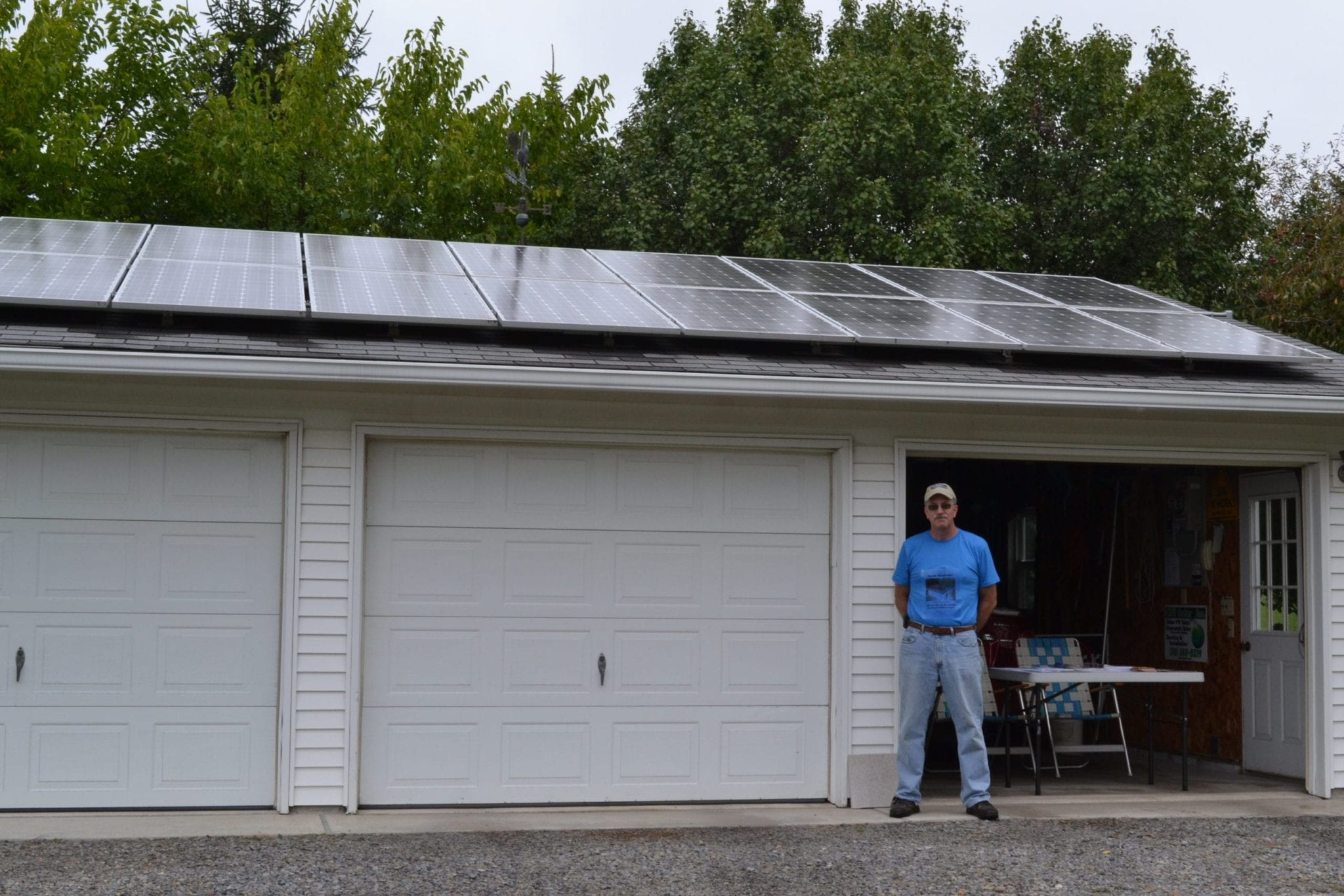 Skaneateles alternative energy tour highlights local commitment to sustainability