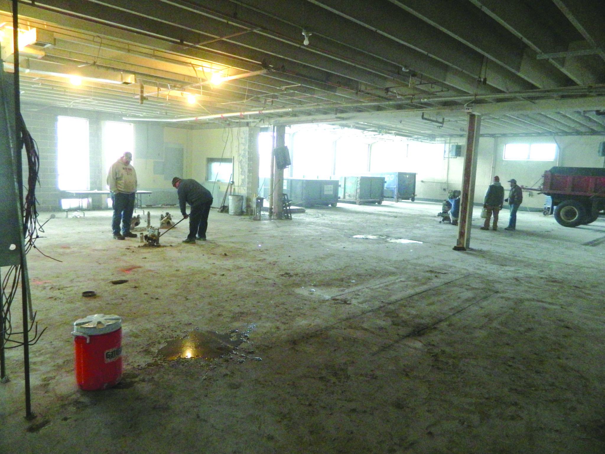New Skaneateles village hall renovation work begun