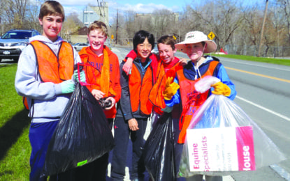 DACC seeks volunteers for annual town-wide Earth Day clean up in DeWitt