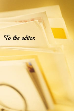 Letters to the editor: May 11 edition