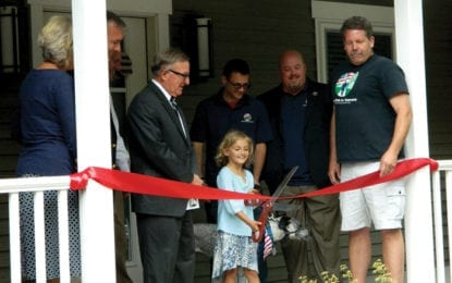 Clear Path cuts ribbon on new long-term veteran's home