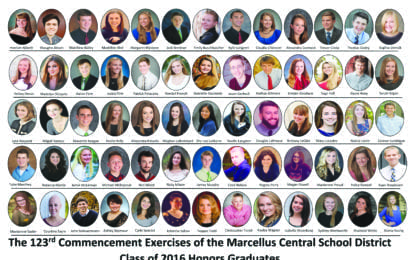Marcellus honors grads announced