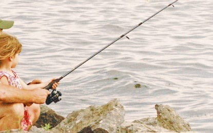 NOPL news: Catch some fun with borrowed fishing rods
