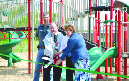 New Marcellus playground unveiled
