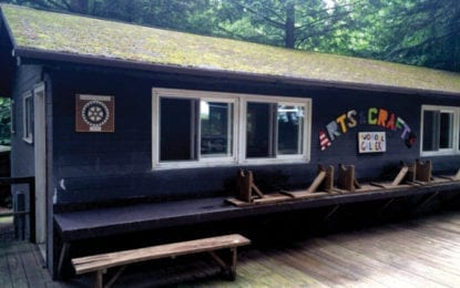 Cazenovia Rotary Club sponsors cabin at Madison County Children's Camp Lookout