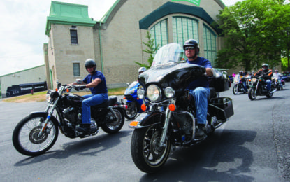 ESFD members participate in governor's motorcycle ride across New York to support breast cancer screening