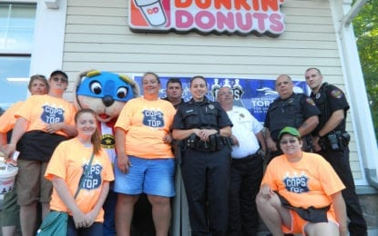 Cazenovia police raise over $1,700 in Cops on Top Special Olympics fundraiser