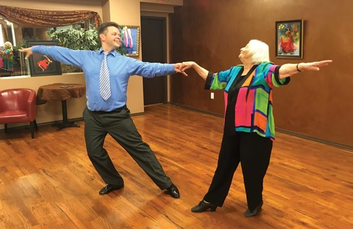 LEARNING TO TANGO WITH AGE