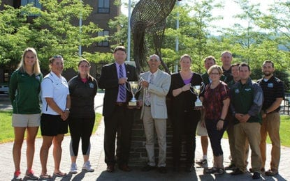 Morrisville State Athletics awarded Presidents' Cup and Senior Woman Administrators Cup