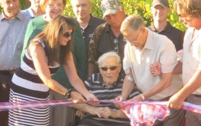 CNY Land Trust dedicates trail to Clay Councilor Weaver