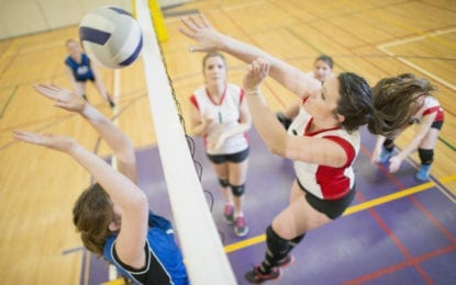 C-NS girls volleyball edges Liverpool in five sets