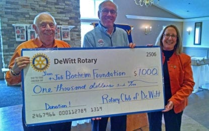 DeWitt Rotary hosts SU mens basketball coach Jim Boeheim