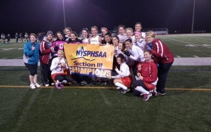 Bees grab field hockey Class A sectional title