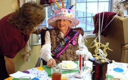 East Syracuse resident celebrates 104th birthday