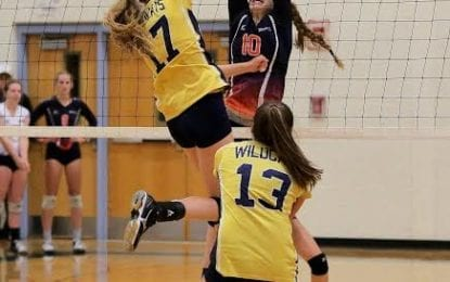WG girls volleyball gets to sectional final