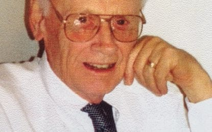 Dr. Johan P. Bonk, 92
