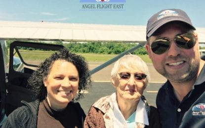 Wings of an angel: Angel Flight East offers free air transport for patients in need