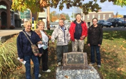 B'ville re-dedicates Baldwin Canal monument