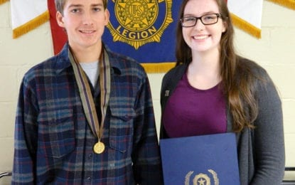 American Legion Post 88 announces 2016 boys and girls state attendees