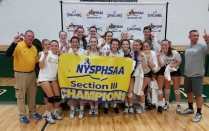 Lakers rally, beat Westhill for sectional volleyball crown