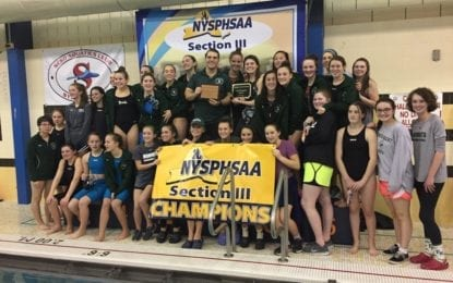 F-M swimmers surge to sectional Class A title