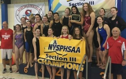 J-D claims sectional girls swim title