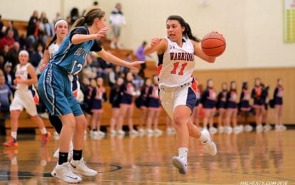 Girls hoops Warriors battle Florida visitors