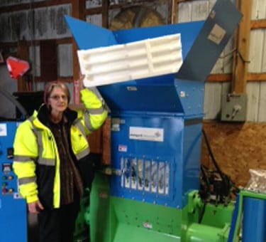 Styrofoam recycling continues in Madison County