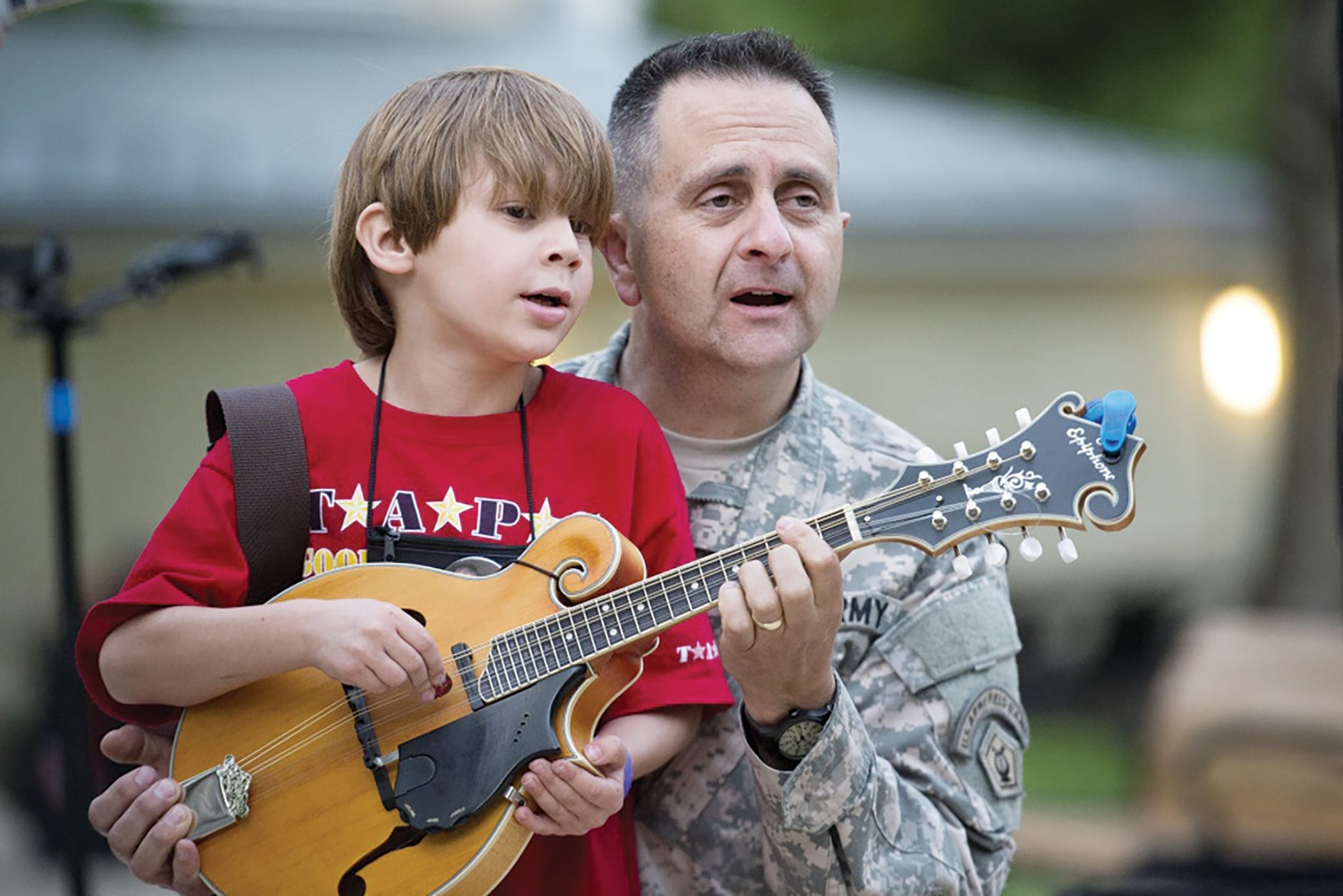Lamirande's last hurrah: B'ville musician's Army career comes to a close