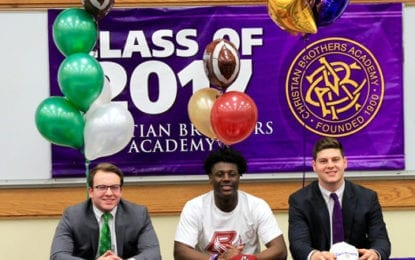 CBA Student-Athletes Sign Division I Letters of Intent