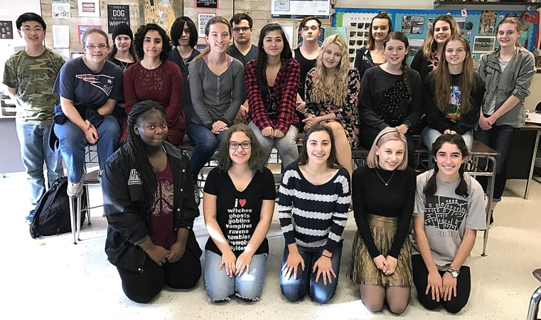 Eagle News Online – F-M High School literary magazine earns national