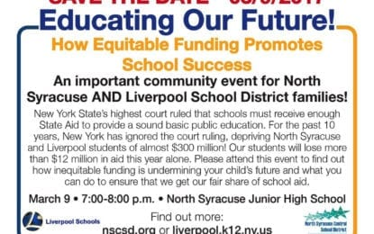 'We're in crisis mode': Liverpool, North Syracuse schools to host funding forum March 9