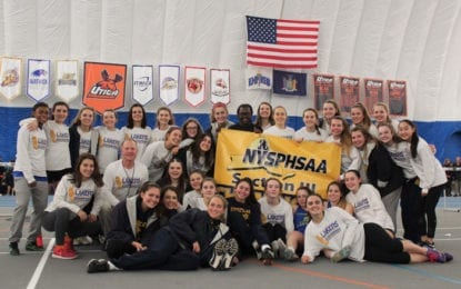 SEVEN IN A ROW: Girls indoor track team wins sectionals