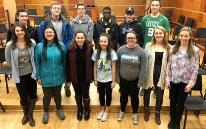 Caz student musicians play in All-State Music Festival