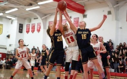 WG girls basketball completes sweep of B'ville
