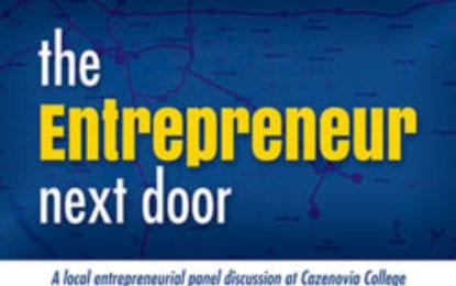 'Entrepreneur Next Door' award and panel discussion returns in April