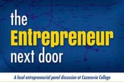 Cazenovia College to present 'Entrepreneur of the Year' Award