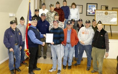 Robinson named Post 88 Legionnaire of the Year