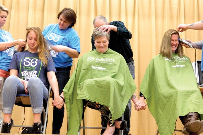 St. Baldrick's raises over $25K for cancer research